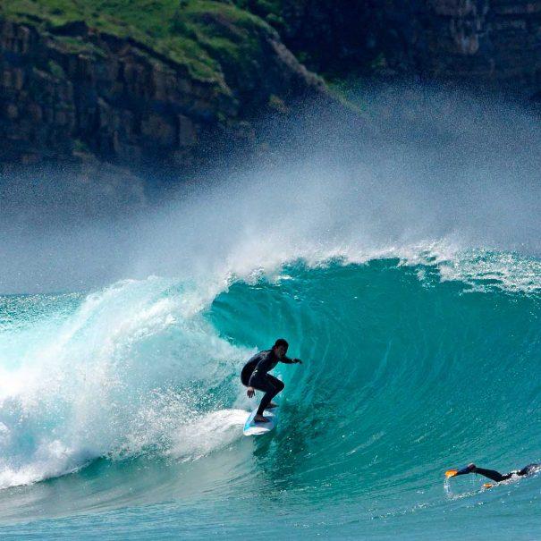 Borja Ibarra Escuela de surf los locos 2